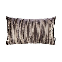 Star by Julien Macdonald - Silver faux fur cushion