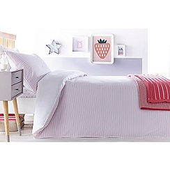 J by Jasper Conran Kids - Pink 'Seersucker' bedding set