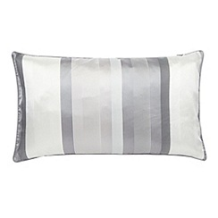 J by Jasper Conran - Designer blue 'Bingham' cushion