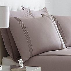 J by Jasper Conran - Cream 'Mason' pillow case pair