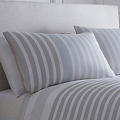 J by Jasper Conran - Light blue 'Pimlico' pillow case pair