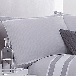 J by Jasper Conran - White 'Brompton' pillow case pair