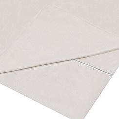 J by Jasper Conran - White Supima cotton 500 thread count flat sheet