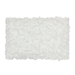 RJR.John Rocha - White textured cushion