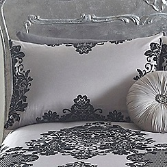 Star by Julien Macdonald - Silver 'Ariana' pillow case pair