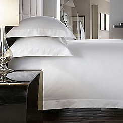 J by Jasper Conran - White 600 thread count 'Hotel Sicily' flat sheet