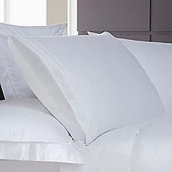 J by Jasper Conran - White 1000 thread count pillow case pair