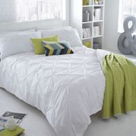 home collection basics grey ruched brooklyn bedding set debenhams