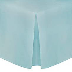 Home Collection - Turquoise cotton rich percale valance trims