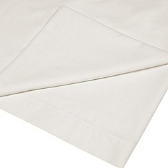 Home Collection - Cream cotton rich percale flat sheet