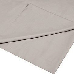 Home Collection - Natural cotton rich percale flat sheet
