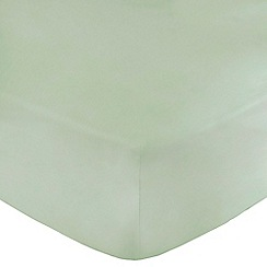 Home Collection - Aqua Egyptian cotton 200 thread count fitted sheet