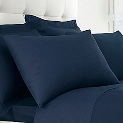 Home Collection - Blue Egyptian cotton 200 thread count pillow case pair