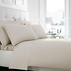 Home Collection - Ivory Egyptian cotton 200 thread count deep fitted sheet