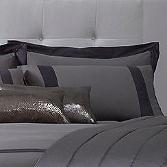 J by Jasper Conran - Grey 'Mayfair' pillow case pair