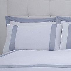 J by Jasper Conran - White 240 thread count 'Dorchester' pillow case pair