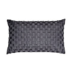J by Jasper Conran - Designer grey lattice cushion