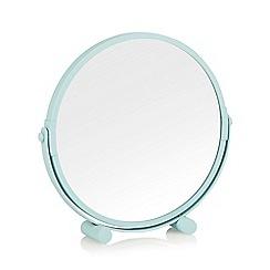 Home Collection Basics - Metal aqua rotating mirror
