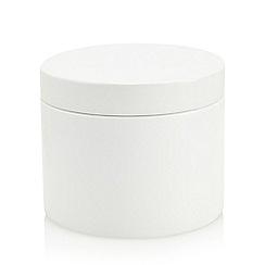 J by Jasper Conran - White storage pot