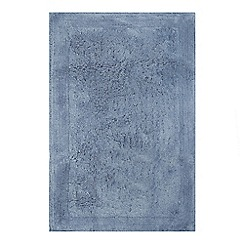 Home Collection - Mid blue tufted bath mat