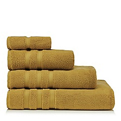 J by Jasper Conran - Yellow 'Hotel' luxury turkish cotton towels