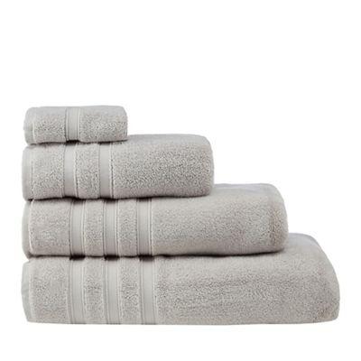 308010605064: Silver Hotel luxury Turkish cotton towels