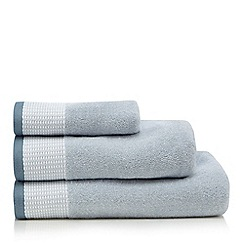 J by Jasper Conran - Light blue Salcombe towels
