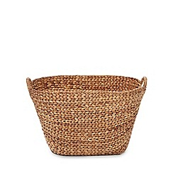 RJR.John Rocha - Natural hyacinth wicker basket