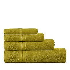 Home Collection - Green Hygro Egyptian cotton towels