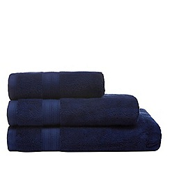 Home Collection - Navy bath towel
