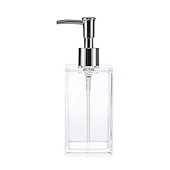 Home Collection Basics - Clear soap dispenser