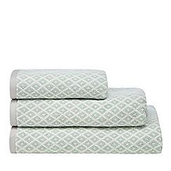Home Collection - Aqua diamond towel