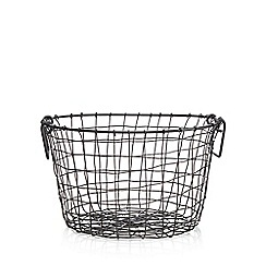 Ben de Lisi Home - Black wire storage bowls