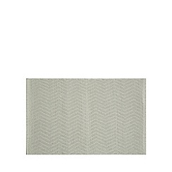 Home Collection - Green chevron textured bath mat