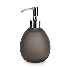 Home Collection - Dark grey 'Hygge' soap dispenser