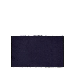 J by Jasper Conran - Navy striped bath mat
