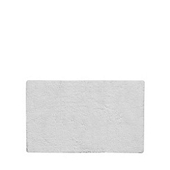 J by Jasper Conran - White extra large reversible bath mat