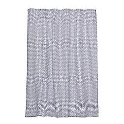 Ben de Lisi Home - Black dot shower curtain