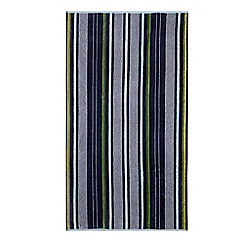 Home Collection - Navy striped beach towel