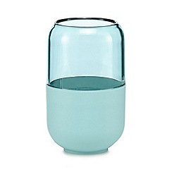 Home Collection Basics - Aqua toothbrush holder