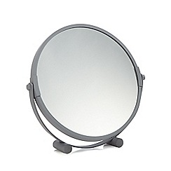 Home Collection Basics - Medium grey round rotating mirror