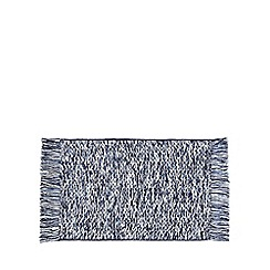 Home Collection - Blue woven bath mat