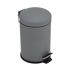 Home Collection Basics - Dark grey pedal bin