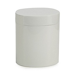 J by Jasper Conran - White resin storage pot