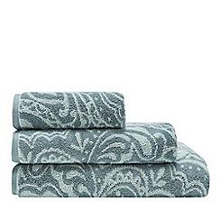 Christy - Light turquoise Lombok damask towels