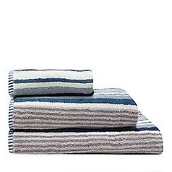 Christy - Blue 'Regatta Stripe' towels