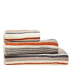 Christy - Natural 'Regatta Stripe' towels