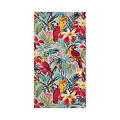Butterfly Home by Matthew Williamson - Multi-coloured tropical bird print towel
