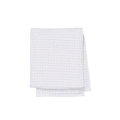 Murmur - White 'Waffle' towels