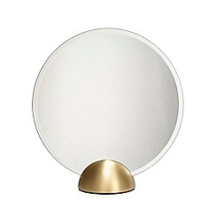 J by Jasper Conran - Gold base standing mirror